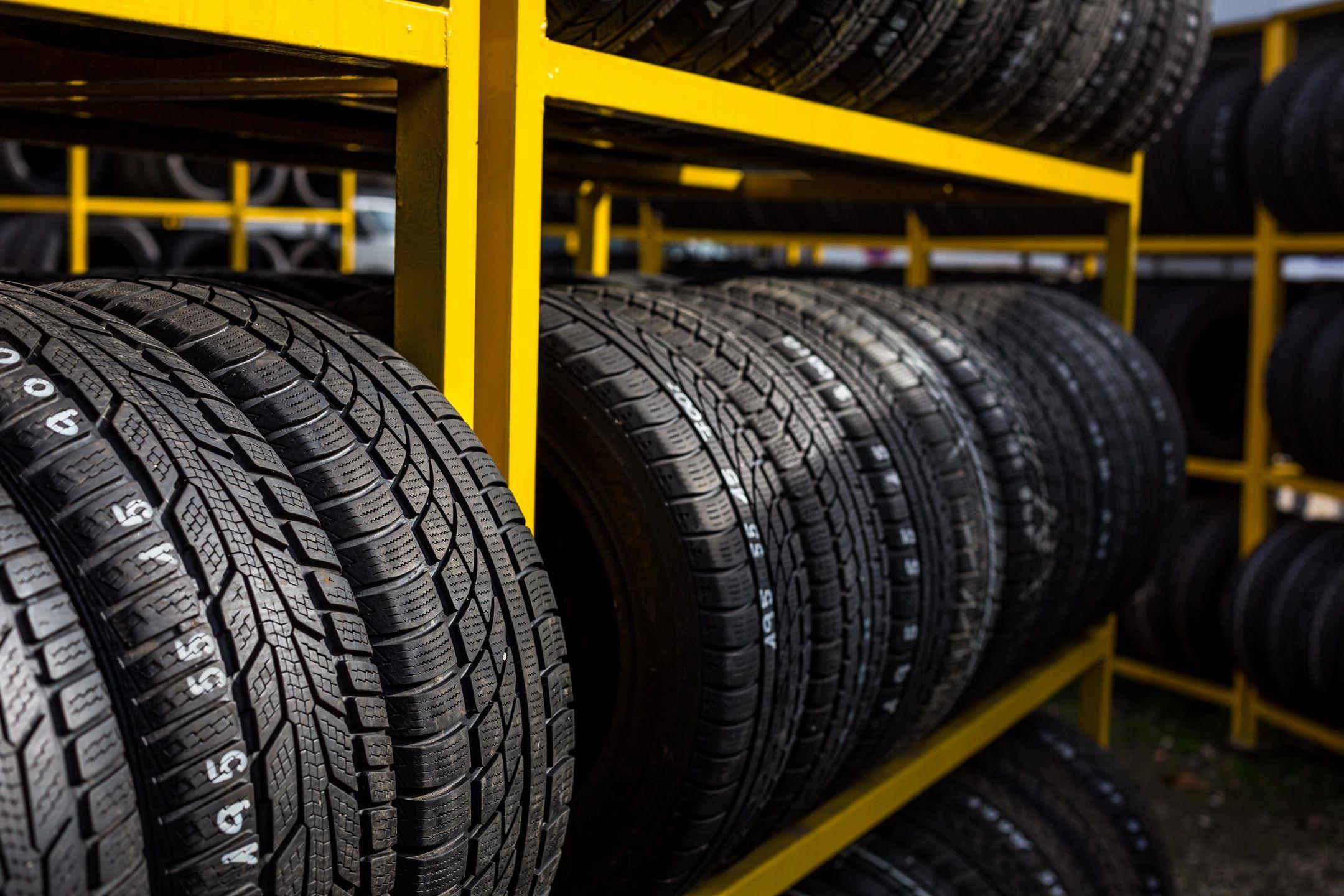Tires sandy